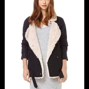 Aritzia Wilfred Free Rayder Sherpa Lined Jacket